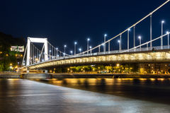 The Elizabeth Bridge Stock Image