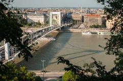 Elizabeth Bridge, Boedapest, Hongarije Royalty-vrije Stock Fotografie