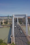 Elizabeth bridge in Budapest Hungary Royalty Free Stock Photography