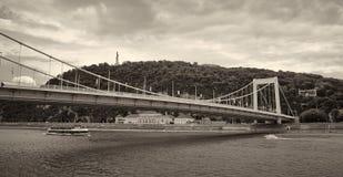 Elizabeth Bridge Budapest, Hungría Foto de archivo