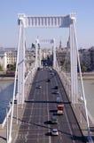 Elizabeth bro Budapest Royaltyfri Bild