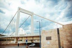 Elizabeth bro Budapest Fotografering för Bildbyråer