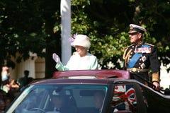 elizabeth drottning Arkivfoto