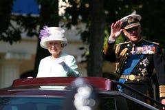 elizabeth drottning Royaltyfria Foton