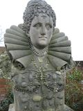 Beautiful English Queen Royalty Free Stock Photo