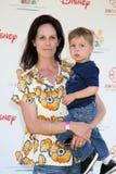 Elizabeth Glaser, Annabeth Gish Στοκ Φωτογραφία