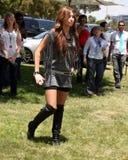 Elizabeth Glaser, Miley Cyrus Stockbilder