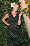 Elizabeth Harrison Lara Shriftman, KIRSTIN DAVIS royaltyfria bilder