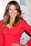 Elizabeth Hendrickson. LOS ANGELES - MAR 16:  Elizabeth Hendrickson arrives at the Young & Restless 39th Anniversary Party hosted by the Bell Family at the Royalty Free Stock Photos