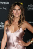 Elizabeth Hendrickson arrives at the 2012 Daytime Emmy Awards Stock Photos