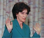 Elizabeth Holtzman στοκ εικόνα με δικαίωμα ελεύθερης χρήσης