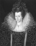Elizabeth I Immagini Stock