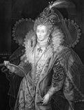 Elizabeth I de Inglaterra Imágenes de archivo libres de regalías