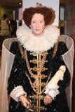 Elizabeth I at Madame Tussaud's stock images