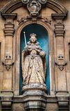 Elizabeth I Statue at St Dunstan in the West Royalty Free Stock Image