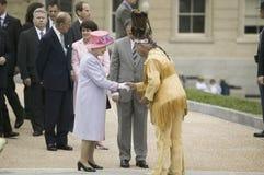 Η μεγαλειότητά της βασίλισσα Elizabeth II Στοκ φωτογραφία με δικαίωμα ελεύθερης χρήσης