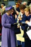 elizabeth ii drottning Fotografering för Bildbyråer