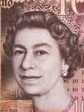 Elizabeth II portret Obrazy Stock