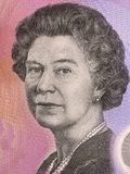 Elizabeth II portret Zdjęcie Stock