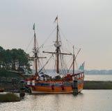 Elizabeth II segelbåt arkivbilder