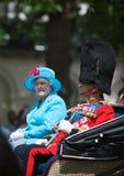 elizabeth królowa Fotografia Royalty Free