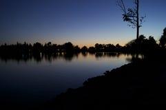 Elizabeth lake Royalty Free Stock Photo
