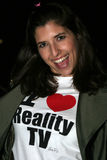Elizabeth Lewis en el reino y el desfile de moda en el privilegio, Hollywood del oeste, CA 04-04-06 de Troy de los pantalones vaqu Foto de archivo