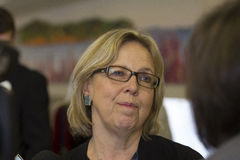 Elizabeth May Green Party Stock Images