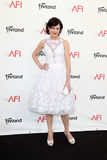 Elizabeth McGovern arriving at the AFI Life Achievement Award Honoring Shirley MacLaine Royalty Free Stock Image