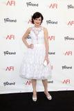 Elizabeth McGovern, der zu dem AFI Leben-Achievement Award ehrt Shirley MacLaine kommt Lizenzfreies Stockbild
