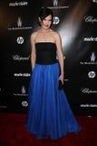 Elizabeth McGovern en el Golden Globe 2012 de la compañía de Weinstein después del partido, hotel de Beverly Hiltron, Beverly Hill Fotos de archivo libres de regalías