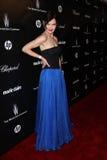 Elizabeth McGovern en el Golden Globe 2012 de la compañía de Weinstein después del partido, hotel de Beverly Hiltron, Beverly Hill Imágenes de archivo libres de regalías
