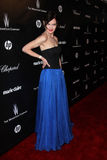 Elizabeth McGovern am Golden Globe 2012 der Weinstein Firma nach Party, Hotel Beverly-Hiltron, Beverly Hills, CA 01-15-12 Lizenzfreie Stockbilder