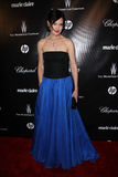 Elizabeth McGovern no globo dourado da companhia 2012 de Weinstein após o partido, hotel de Beverly Hiltron, Beverly Hills, CA 01- Fotos de Stock Royalty Free