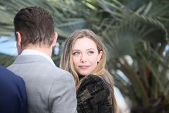 Elizabeth Olsen attends the `Wind River` Royalty Free Stock Photos