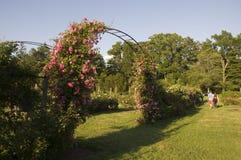 Elizabeth park - romans w powietrzu obrazy royalty free