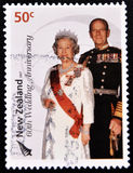elizabeth philip princedrottning Royaltyfri Bild
