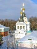 Elizabeth Prison Church in Dmitrov der Kreml, Russland, Moskau Regio lizenzfreies stockfoto