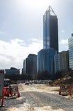 Elizabeth Quay Construction Site Stock Image