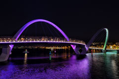 Elizabeth Quay à Perth Image stock