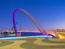 Elizabeth Quay Bridge Image stock