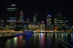 Elizabeth Quay in Perth stockfotos