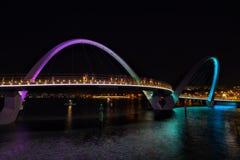 Elizabeth Quay à Perth Photos stock