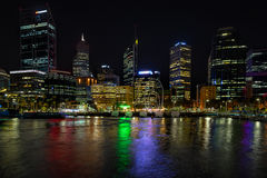 Elizabeth Quay w Perth Zdjęcie Royalty Free