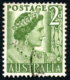 Elizabeth the Queen Mother Australian Postage Stamp Stock Images