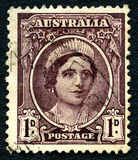 Elizabeth the Queen Mother Australian Postage Stamp Royalty Free Stock Photography