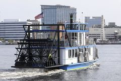 Elizabeth River Ferry Immagine Stock