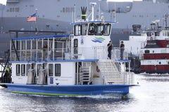 Elizabeth River Ferry immagini stock