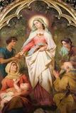 Elizabeth saint de Hongrie Photos libres de droits