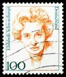 Elizabeth Schwarzhaupt 1901-1986, polityk, kobiety w Niemieckim historii seria około 1997, zdjęcia royalty free